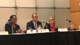 LINC's Managing Director, Patrick Sommerville presents at the 10th USAID Small Business Conference in DC.