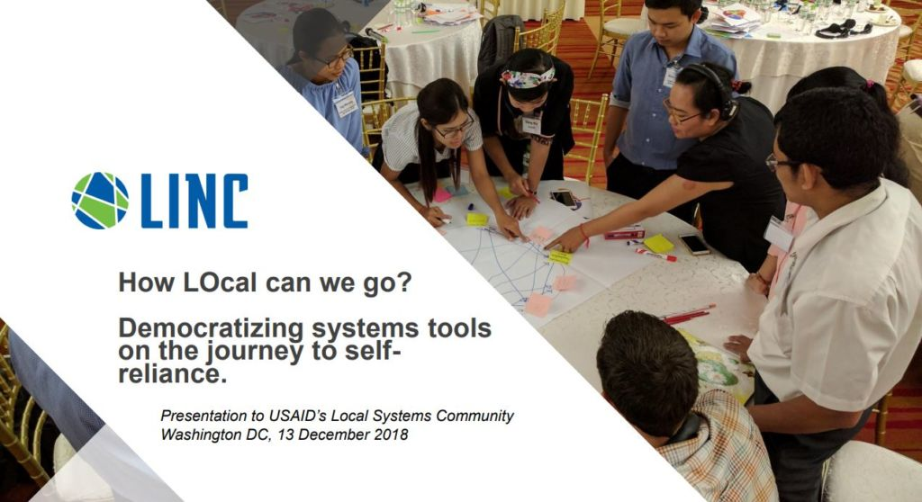 The Year in Systems Thinking: How LO-cal Can We Go? - HowLocalCanWeGo