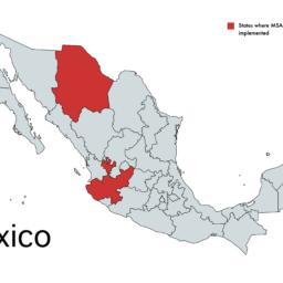 """Adjudicación del Programa """"Alianzas para el fortalecimiento"""" - Map"""